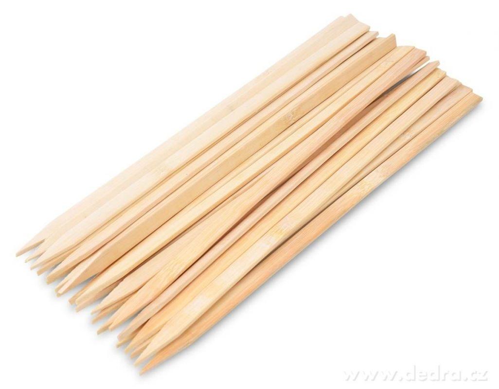 Bamboo grilovací hroty na špízy 25ks Dedra