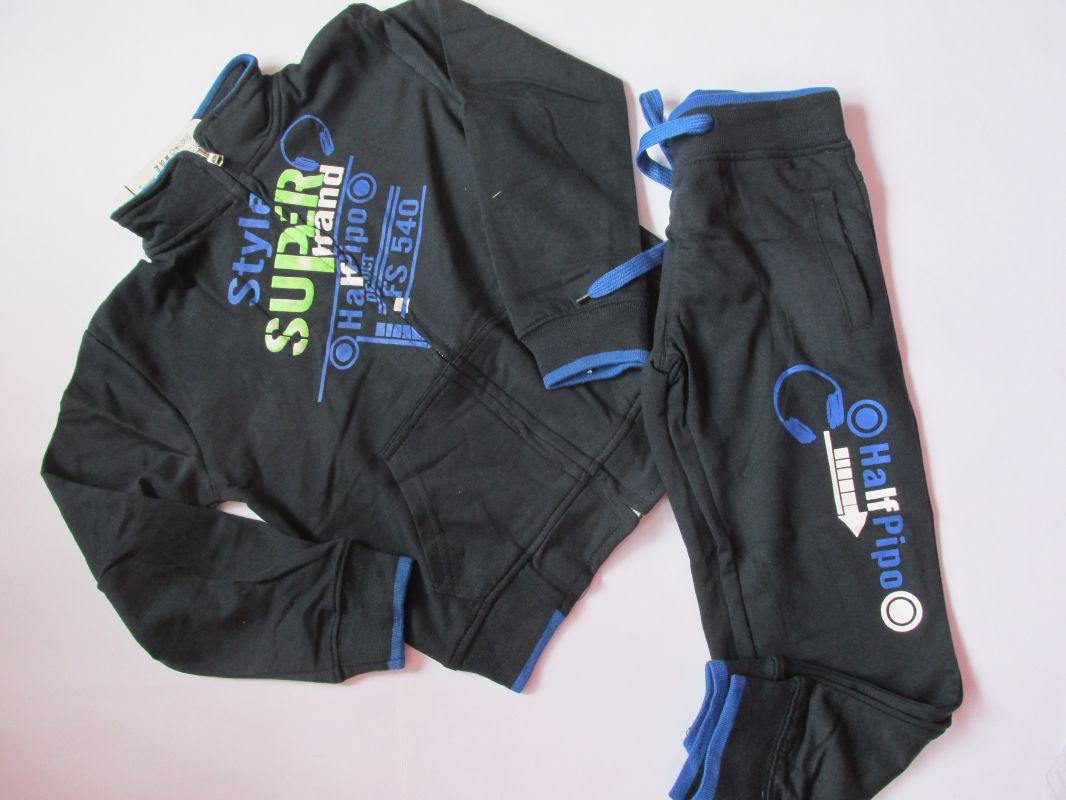 Chlapecká tepláková souprava KUGO Style tmavě modrá