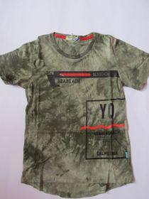 Chlapecké tričko maskáč -  khaki