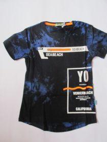 Chlapecké tričko maskáč -  modré