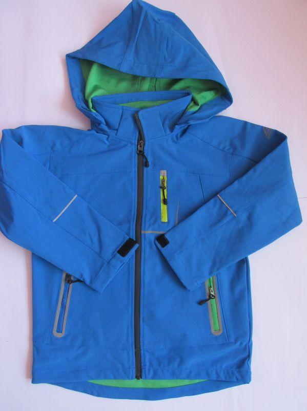 Dětská softshellová bunda Kugo modrá