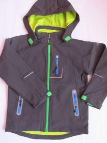 Dětská softshellová bunda Kugo šedá