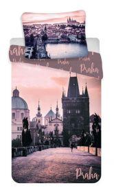 Povlečení bavlna fototisk - Praha Romantique 140x200  90x70
