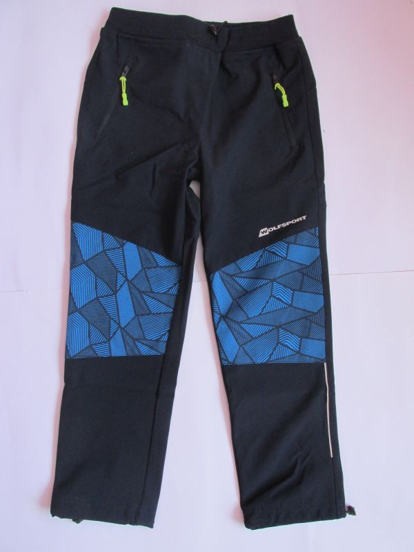 Softshellové kalhoty Wolf (bez fleesu), tmavě modré