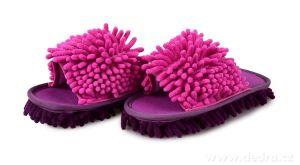 Úklidové botky - fialovo-fuchsiové vel. 36-40