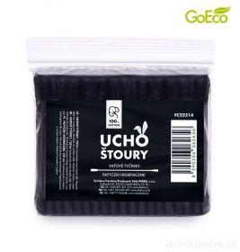 Černé ekologické uchošťoury 150ks náhradní balení