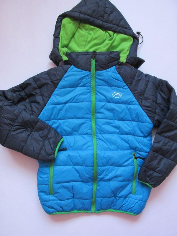 Chlapecká zimní bunda Kugo světle modrá 140-152