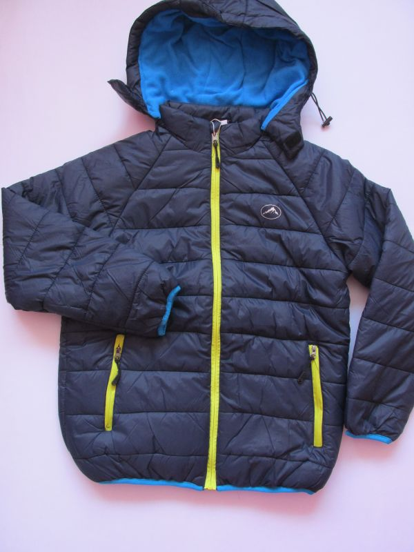 Chlapecká zimní bunda Kugo tmavě modrá 146-158