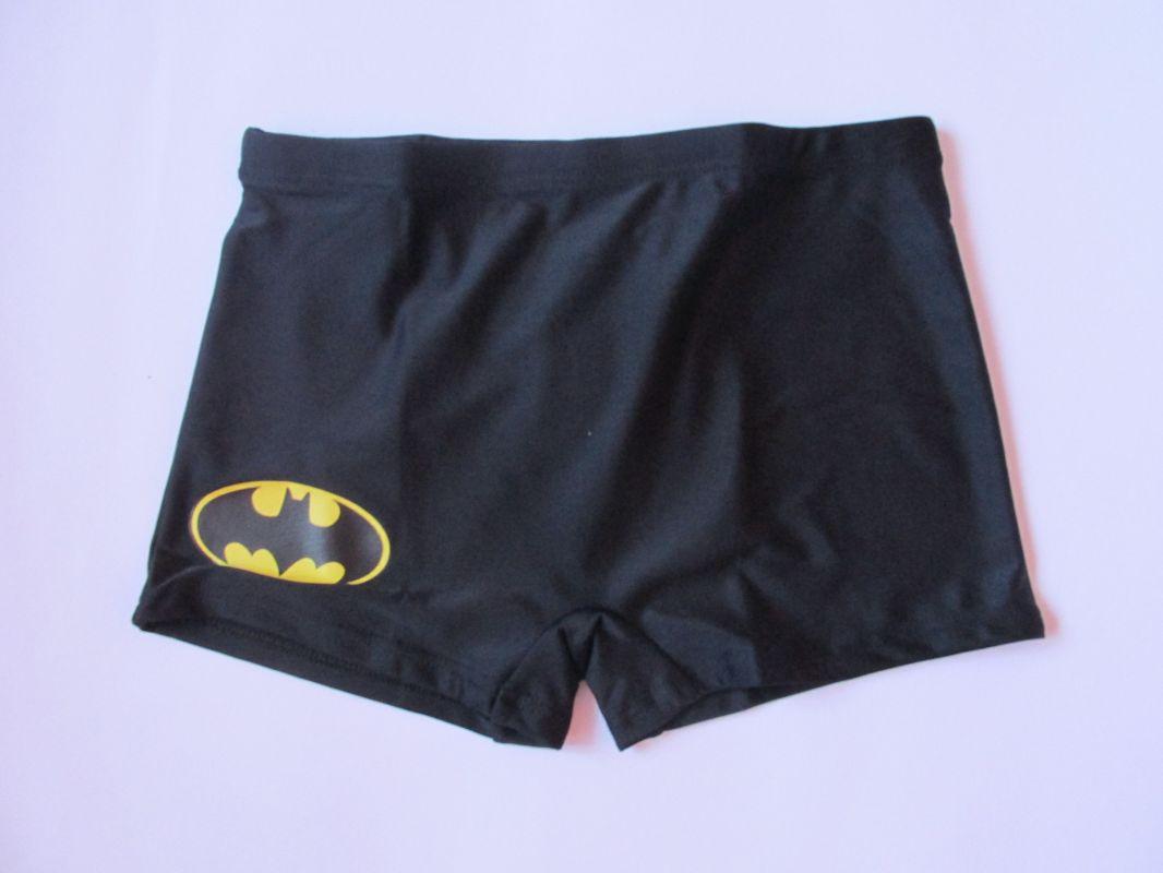Chlapecké plavky Batman černé Setino