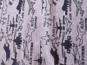 Chlapecké pyžamo Letadla dlouhý rukáv, vel.146 Smaragd