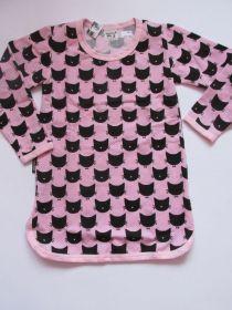 Dívčí noční košile kočka růžová, vel. 104