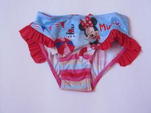 Dívčí plavky Minnie červené