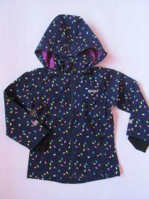 Dívčí softshellová bunda Wolf tmavě modrá
