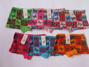 Dívčí spodní kalhotky s nohavičkou Motýl vel. 9-11let
