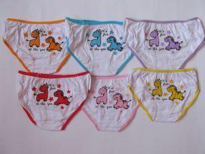 Dívčí spodní kalhotky - zvířátka, vel. 3-5let Elevek
