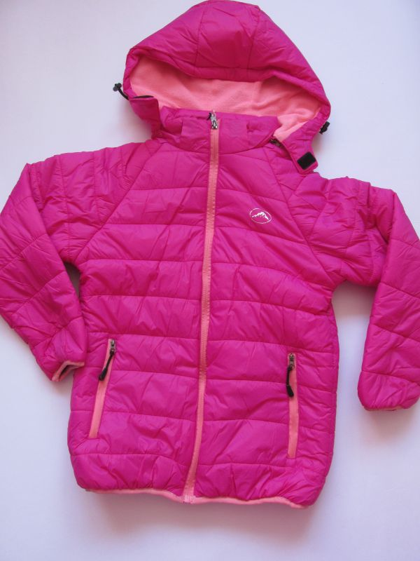 Dívčí zimní bunda Kugo růžová 134-158
