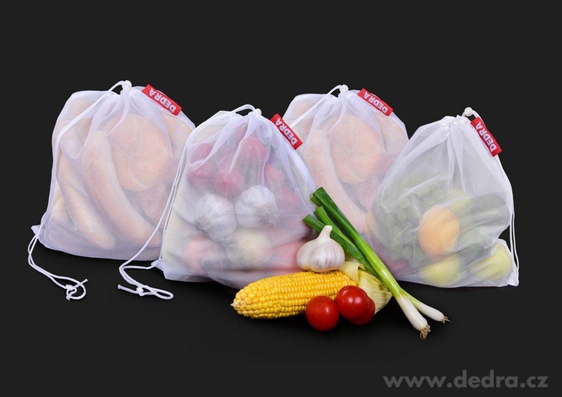 Ekopytlík/ekosáček na potraviny 4ks Dedra