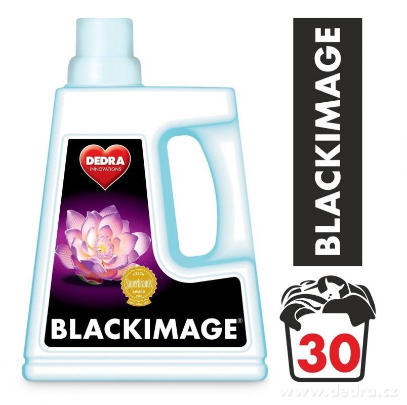 Blackimage prací gel na praní černého a tmavého prádla 1500ml Dedra