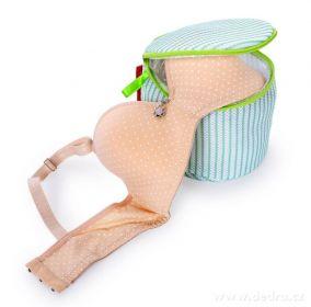 Košíček na praní podprsenek, sendvičová síťovina Dedra