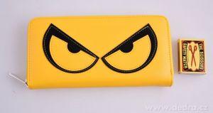 Peněženka z ekokůže Rebelito - žlutá Dedra