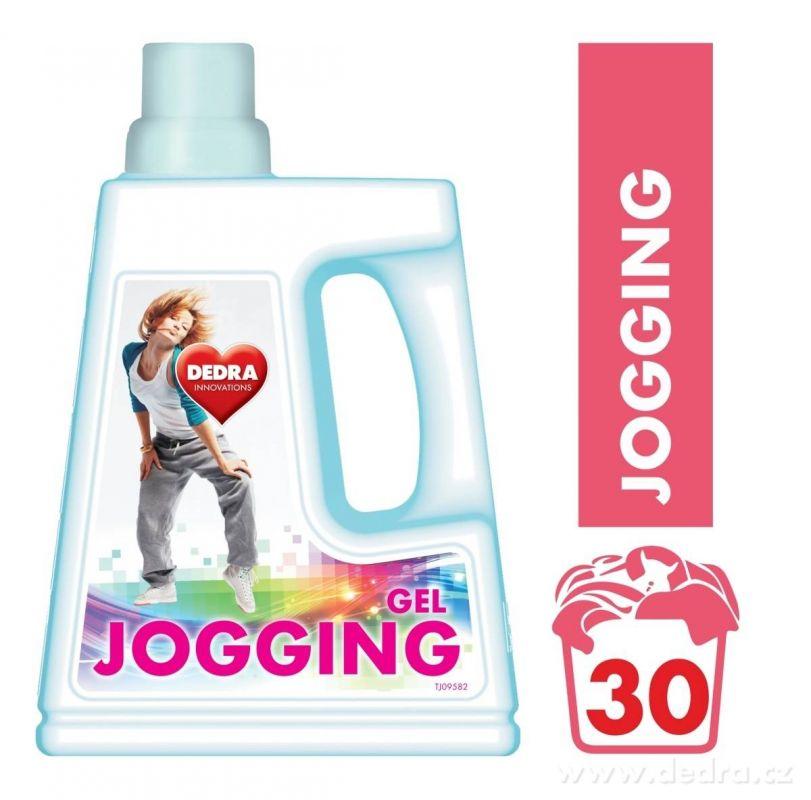 Prací gel Jogging 2v1 na oděvy po sportu 1500ml Dedra
