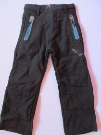 Softshellové kalhoty zateplené Kugo černé/modré