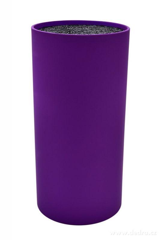 Stojan na nože tyčinkový CARBONIT fialový Dedra