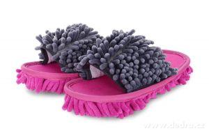 Úklidové botky - fuchsiovo-šedé vel. 36-40 Dedra