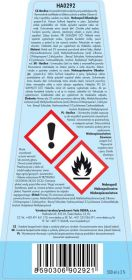 Hygienický čistič hladkých povrchů s vysokým obsahem alkoholu (70%) BACILEX polar breeze 500ml Dedra