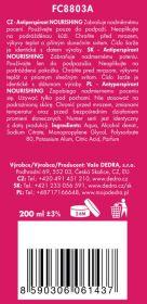 Antiperspirant sprey LA COLLECTION PRIVÉE 200 ml Nourishing Dedra