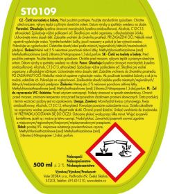 Čistič WC - toilet gel Green apple 500ml Dedra