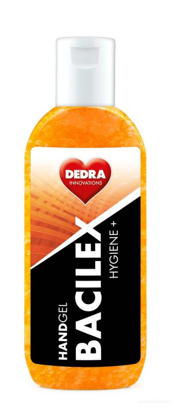 Čisticí gel na ruce BACILEX s vysokým obsahem alkoholu 100ml Dedra