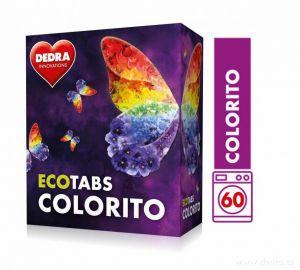 Dedra Prací tablety na bílé prádlo ECOTABS COLORITO koncentrované 60 ks