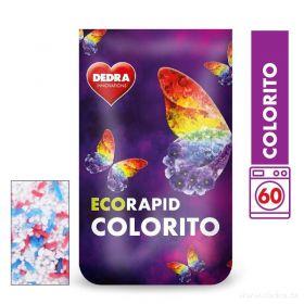 Dedra prášek na barevné prádlo ECORAPID COLORITO 60 praní