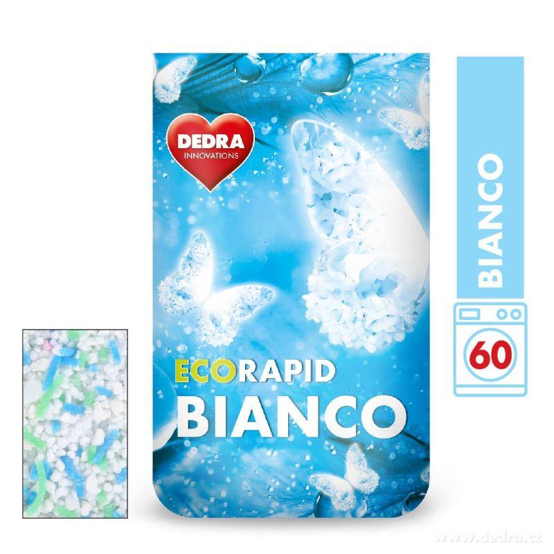 Dedra prášek na bílé prádlo ECORAPID BIANCO 60 praní