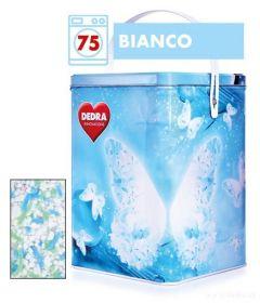Dedra prášek na bílé prádlo ECORAPID BIANCO + dóza ZDARMA, 75 praní