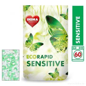 Dedra prášek na bílé prádlo ECORAPID SENSITIVE 60 praní