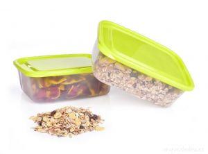 Dóza na potraviny GREENBOX 1300 ml - 2ks Dedra