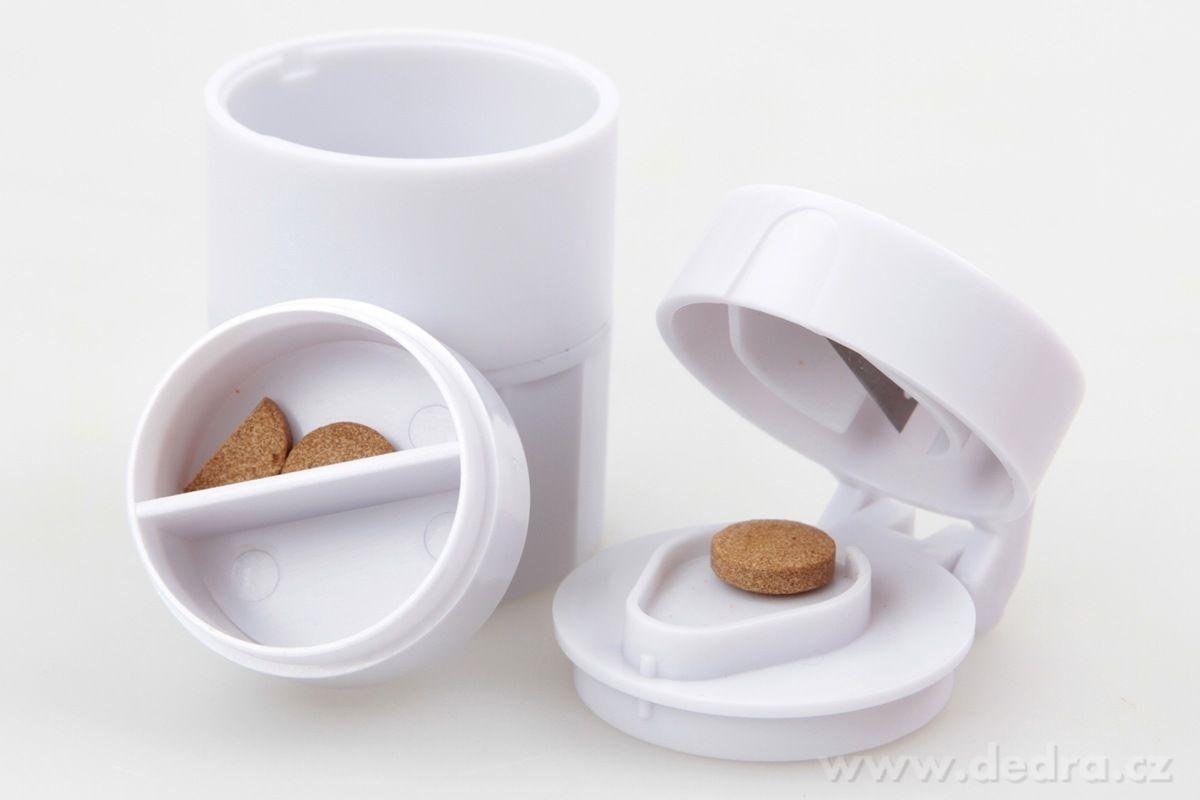 Dedra Drtič a půlič léků se zásobníkem 4v1