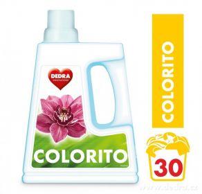 Colorito gel na praní barevného prádla 1500ml Dedra