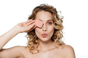 Kosmetická houbička na make-up 12ks Dedra