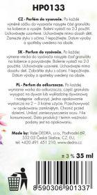 Parfém do vysavače Green land, parfum granules 35ml Dedra