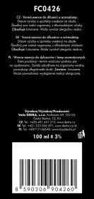 PARFUM ESSENCE CITRONELLA,100ml Dedra