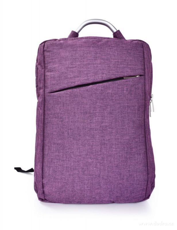 Pevný stylový batoh BUSINESS BAG, blueberry Dedra