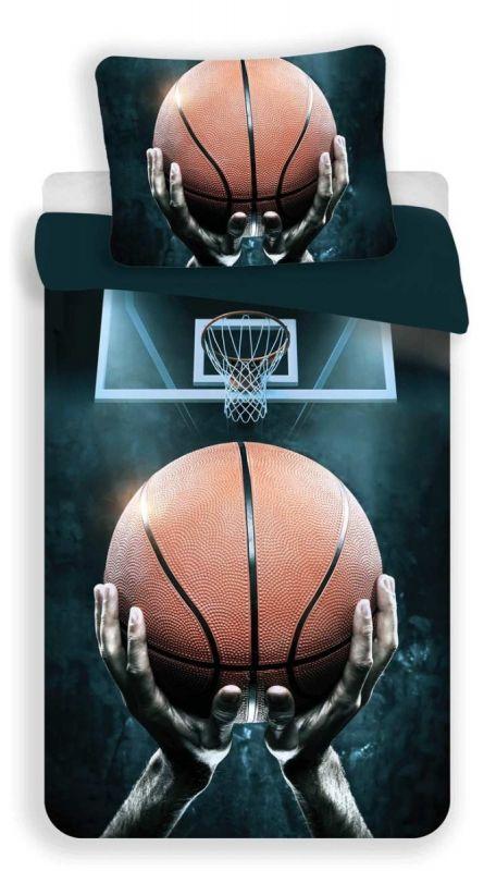 Povlečení bavlna fototisk - Basketball 140x200 90x70 Jerry Fabrics