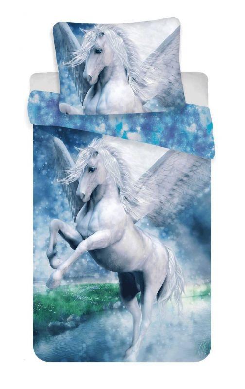 Povlečení bavlna fototisk - Pegas 40x200 90x70 Jerry Fabrics