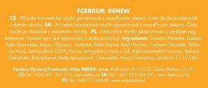 Přírodní glycerinové mýdlo Renew 90g Dedra
