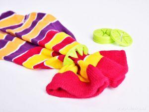 Prstýnky na párování ponožek 10ks Dedra