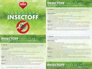 Repelentní náramek k odpuzování komárů a hmyzu - modrý Dedra
