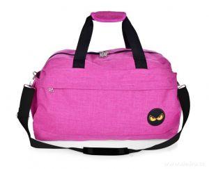 Sportovní taška SPORT & WEEKENDER REBELITO fuchsiová